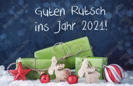 Guten Rutsch ins neues Jahr